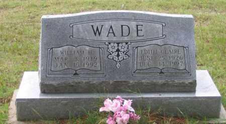 WADE, EDITH CLAIR - Lawrence County, Arkansas | EDITH CLAIR WADE - Arkansas Gravestone Photos