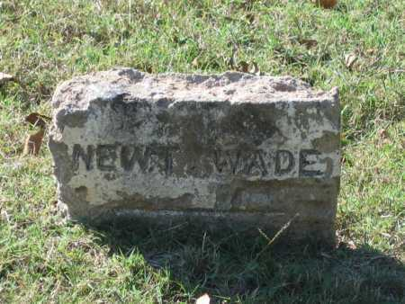 WADE, NEWTON LAWSON - Lawrence County, Arkansas | NEWTON LAWSON WADE - Arkansas Gravestone Photos