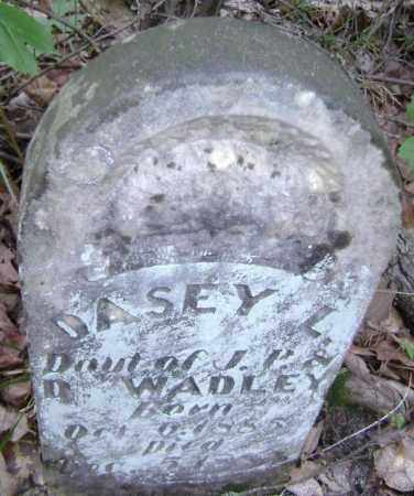 WADLEY, DASEY L. - Lawrence County, Arkansas | DASEY L. WADLEY - Arkansas Gravestone Photos