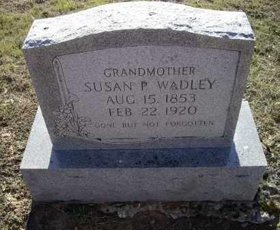 HUBBARD WADLEY, SUSAN P. - Lawrence County, Arkansas   SUSAN P. HUBBARD WADLEY - Arkansas Gravestone Photos