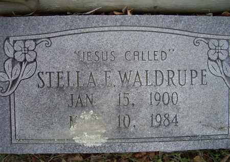 WALDRUPE, STELLA E. - Lawrence County, Arkansas | STELLA E. WALDRUPE - Arkansas Gravestone Photos