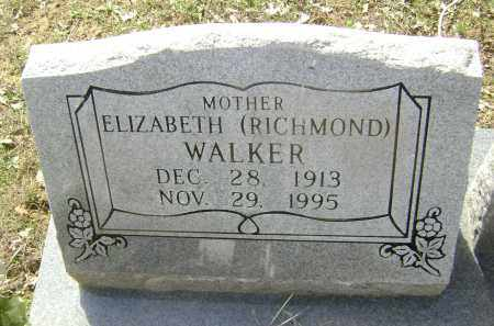RICHMOND, NAOMI ELIZABETH - Lawrence County, Arkansas | NAOMI ELIZABETH RICHMOND - Arkansas Gravestone Photos