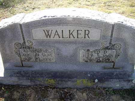 WALKER, FRED D. - Lawrence County, Arkansas | FRED D. WALKER - Arkansas Gravestone Photos