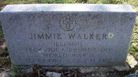 WALKER (VETERAN), JIMMIE - Lawrence County, Arkansas | JIMMIE WALKER (VETERAN) - Arkansas Gravestone Photos