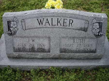 WALKER, J. W. - Lawrence County, Arkansas | J. W. WALKER - Arkansas Gravestone Photos