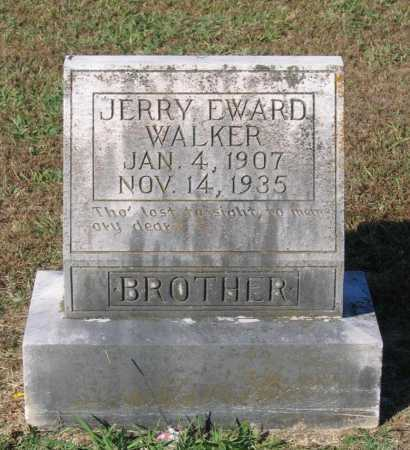 WALKER, JERRY EDWARD - Lawrence County, Arkansas | JERRY EDWARD WALKER - Arkansas Gravestone Photos