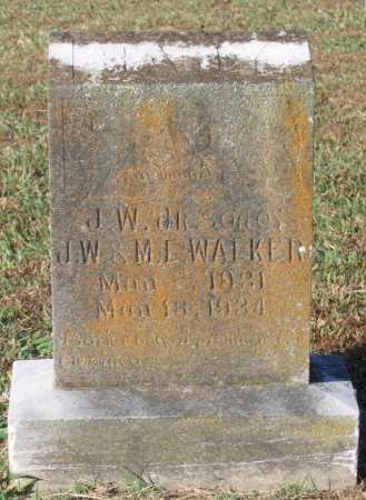 WALKER, JR., J. W. - Lawrence County, Arkansas | J. W. WALKER, JR. - Arkansas Gravestone Photos
