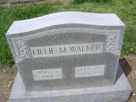 WALKER, LILLIE M - Lawrence County, Arkansas | LILLIE M WALKER - Arkansas Gravestone Photos