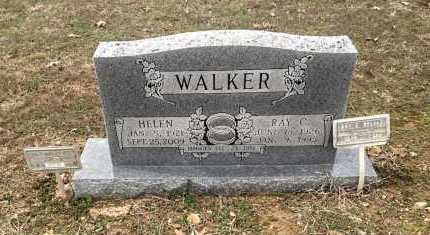 """WALKER, RAY CLAYTON """"STRAWBERRY"""" - Lawrence County, Arkansas 