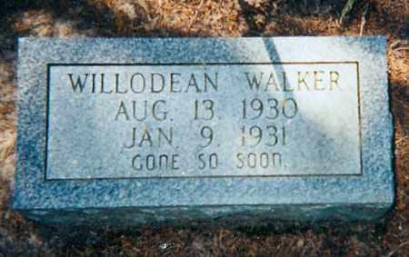 WALKER, WILLODEAN - Lawrence County, Arkansas   WILLODEAN WALKER - Arkansas Gravestone Photos
