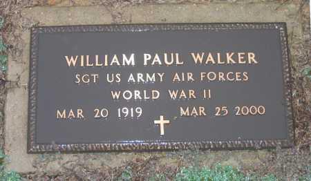 WALKER (VETERAN WWII), WILLIAM PAUL - Lawrence County, Arkansas | WILLIAM PAUL WALKER (VETERAN WWII) - Arkansas Gravestone Photos