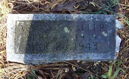 WALLER, ARLIN CLINE - Lawrence County, Arkansas | ARLIN CLINE WALLER - Arkansas Gravestone Photos