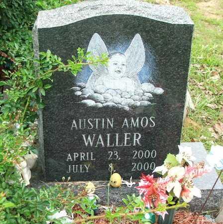 WALLER, AUSTIN AMOS - Lawrence County, Arkansas   AUSTIN AMOS WALLER - Arkansas Gravestone Photos