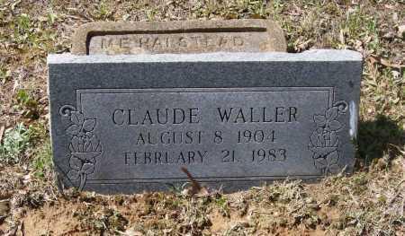 WALLER, CLAUDE ELMER - Lawrence County, Arkansas | CLAUDE ELMER WALLER - Arkansas Gravestone Photos
