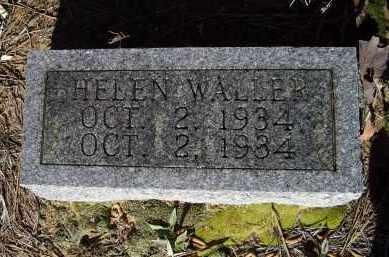 WALLER, HELEN - Lawrence County, Arkansas | HELEN WALLER - Arkansas Gravestone Photos