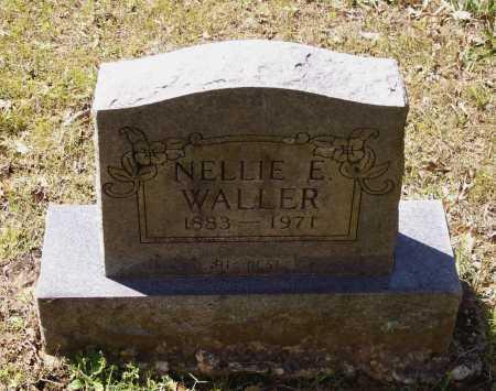 CASTLEMAN WALLER, NELLIE ELIZABETH - Lawrence County, Arkansas | NELLIE ELIZABETH CASTLEMAN WALLER - Arkansas Gravestone Photos