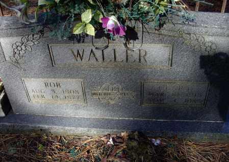 DOW WALLER, CLARA - Lawrence County, Arkansas | CLARA DOW WALLER - Arkansas Gravestone Photos