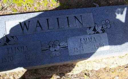WALLIN, EMMA - Lawrence County, Arkansas | EMMA WALLIN - Arkansas Gravestone Photos