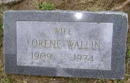 WALLIN, LORENE MELBA - Lawrence County, Arkansas | LORENE MELBA WALLIN - Arkansas Gravestone Photos