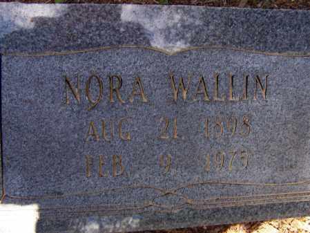 WALLIN, NORA - Lawrence County, Arkansas | NORA WALLIN - Arkansas Gravestone Photos