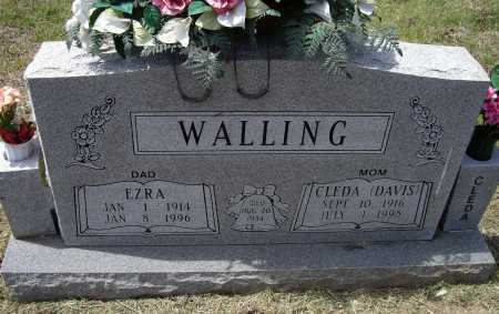 WALLING, CLEDA MAE - Lawrence County, Arkansas | CLEDA MAE WALLING - Arkansas Gravestone Photos