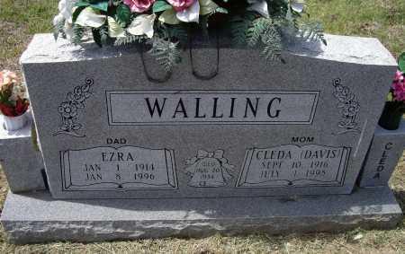 WALLING, CLEDA MAE - Lawrence County, Arkansas | CLEDA MAE WALLING - Arkansas Gravestone Photos