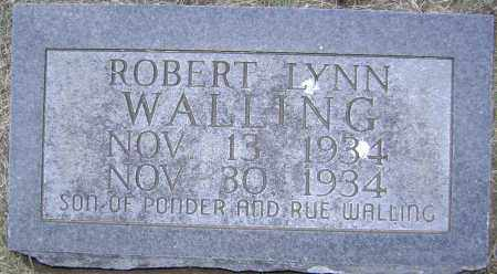 WALLING, ROBERT LYNN - Lawrence County, Arkansas | ROBERT LYNN WALLING - Arkansas Gravestone Photos