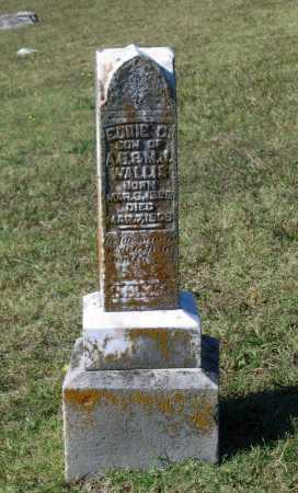 WALLIS, EDDIE C. - Lawrence County, Arkansas | EDDIE C. WALLIS - Arkansas Gravestone Photos