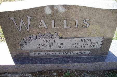 WILLIAMS WALLIS, THELMA IRENE - Lawrence County, Arkansas | THELMA IRENE WILLIAMS WALLIS - Arkansas Gravestone Photos