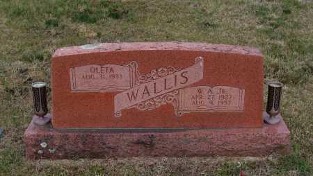 "WALLIS, JR., WILLIAM ALBERT ""WILLIE"" - Lawrence County, Arkansas | WILLIAM ALBERT ""WILLIE"" WALLIS, JR. - Arkansas Gravestone Photos"