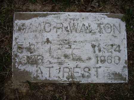 WALTON, ISAAC P. - Lawrence County, Arkansas | ISAAC P. WALTON - Arkansas Gravestone Photos