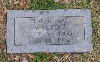WALTON, PEARLIE MAE - Lawrence County, Arkansas | PEARLIE MAE WALTON - Arkansas Gravestone Photos