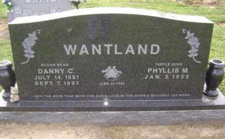 "WANTLAND, DANNY CARLTON MOSES ""SUGAR BEAR"" - Lawrence County, Arkansas   DANNY CARLTON MOSES ""SUGAR BEAR"" WANTLAND - Arkansas Gravestone Photos"