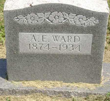 "WARD, ALBERT EZRA ""A. E."" - Lawrence County, Arkansas   ALBERT EZRA ""A. E."" WARD - Arkansas Gravestone Photos"