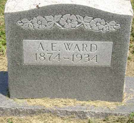 "WARD, ALBERT EZRA ""A. E."" - Lawrence County, Arkansas 