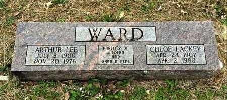 LACKEY WARD, CHLOE - Lawrence County, Arkansas | CHLOE LACKEY WARD - Arkansas Gravestone Photos