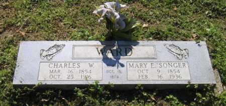 SONGER WARD, MARY E. - Lawrence County, Arkansas | MARY E. SONGER WARD - Arkansas Gravestone Photos
