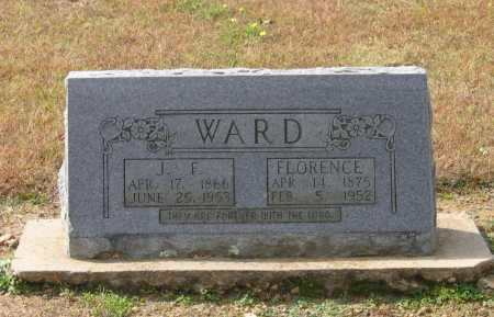 HOOVER WARD, SARAH FLORENCE C. - Lawrence County, Arkansas | SARAH FLORENCE C. HOOVER WARD - Arkansas Gravestone Photos