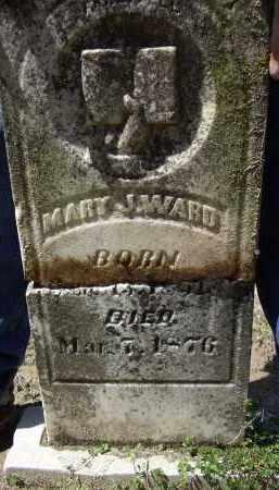 WARD, MARY J. - Lawrence County, Arkansas | MARY J. WARD - Arkansas Gravestone Photos
