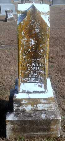 HIGGINBOTHAM WARD, MARGARET - Lawrence County, Arkansas | MARGARET HIGGINBOTHAM WARD - Arkansas Gravestone Photos