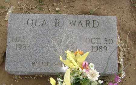 WARD, OLA ROWLAND - Lawrence County, Arkansas   OLA ROWLAND WARD - Arkansas Gravestone Photos