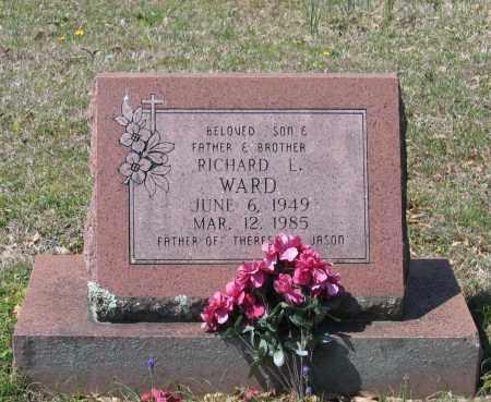 WARD, RICHARD LEE - Lawrence County, Arkansas | RICHARD LEE WARD - Arkansas Gravestone Photos