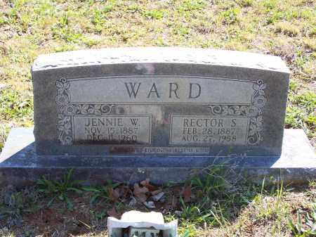 WARD, RECTOR S. - Lawrence County, Arkansas | RECTOR S. WARD - Arkansas Gravestone Photos