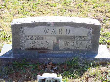 WARD, JENNIE W. - Lawrence County, Arkansas | JENNIE W. WARD - Arkansas Gravestone Photos