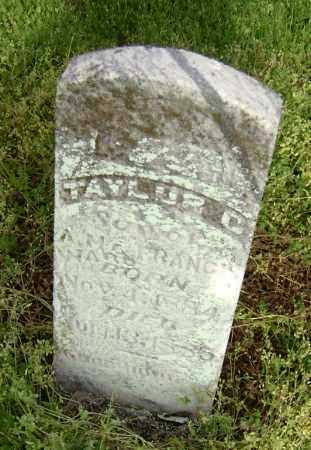 WARD, TAYLOR C. - Lawrence County, Arkansas   TAYLOR C. WARD - Arkansas Gravestone Photos