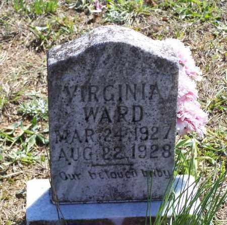 WARD, VIRGINIA - Lawrence County, Arkansas | VIRGINIA WARD - Arkansas Gravestone Photos