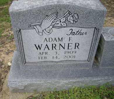 WARNER, ADAM F. - Lawrence County, Arkansas   ADAM F. WARNER - Arkansas Gravestone Photos