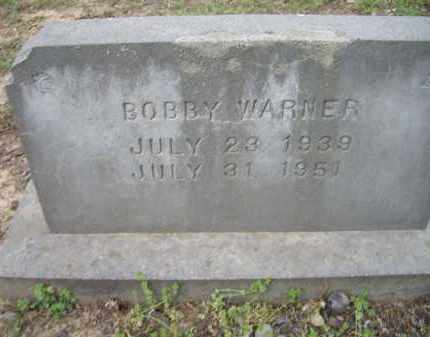 WARNER, BOBBY - Lawrence County, Arkansas | BOBBY WARNER - Arkansas Gravestone Photos