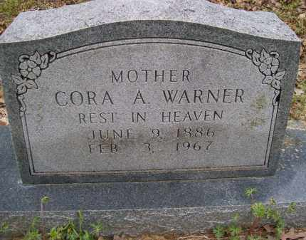 WARNER, CORA A. - Lawrence County, Arkansas | CORA A. WARNER - Arkansas Gravestone Photos