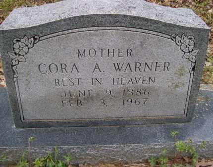 WARNER, CORA A. - Lawrence County, Arkansas | CORA A. WARNER - Arkansas Gravestone Photos